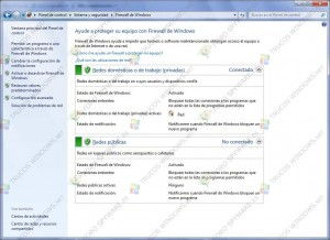 Como usar el firewall de Windows 7