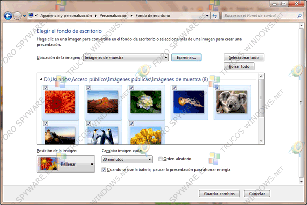 Temas Windows 7 Fondos escritoro