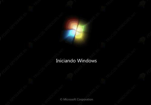 Iniciando Windows 7