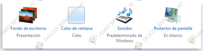 Personalizar tema Windows 7